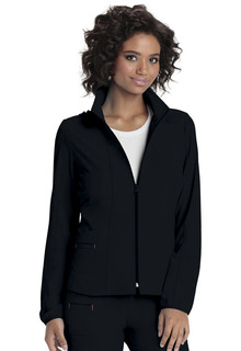 Heartsoul Break On Through Medical Zip Front Warm-Up Jacket-Heartsoul