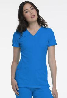 Heartsoul Break On Through Medical Shaped V-Neck Top-Heartsoul