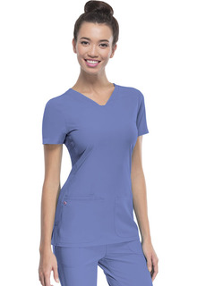 """Pitter-Pat"" Shaped V-Neck Top"