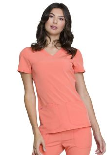 Shaped V-Neck Top-