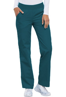 My Flexibles Ladies Mid-Rise Knit Waist Pull-On Pant - 2085-Cherokee Medical