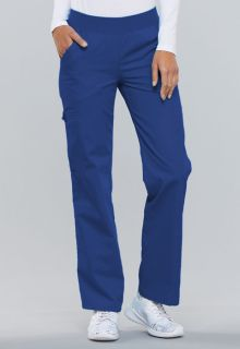 2085 Mid-Rise Knit Waist Pull-On Pant-Cherokee Medical
