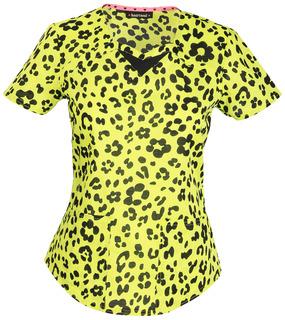 HeartSoul Fashion Prints Women's Sweetheart Neck Top