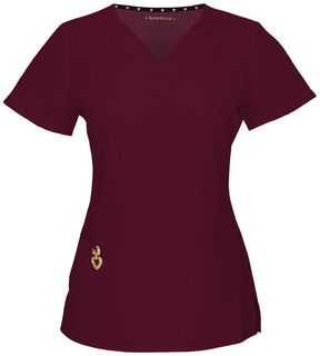"""HS20971A """"Wrapped Up"""" V-Neck Top"""