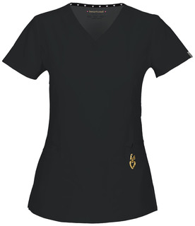 """Beloved"" V-Neck Top-Heartsoul"