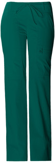 Low Rise Flare Leg Drawstring Cargo Pant-Cherokee Medical