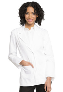 "Cherokee 28"" Notched Lapel Lab Coat-Cherokee Medical"