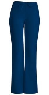 Low Rise Moderate Flare Drawstring Pant-Cherokee Workwear