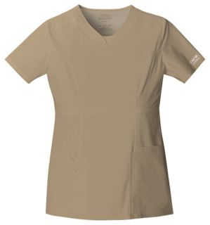 24703 V-Neck Top-Cherokee Workwear
