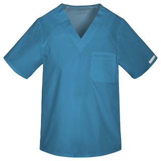 2611 Mens V-Neck Top-Cherokee Medical