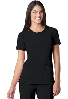 2624A Round Neck Top-Cherokee Medical