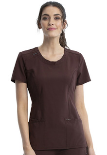 Cherokee Medical Infinity Round Neck Scrub Top-Cherokee Medical