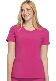 Round Neck Top-Cherokee Medical