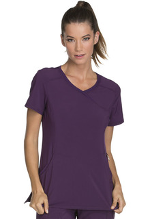 Infinity Mock Wrap Top - 2625A - Antimicrobial-