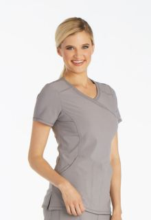 2625A Mock Wrap Top-Cherokee Medical