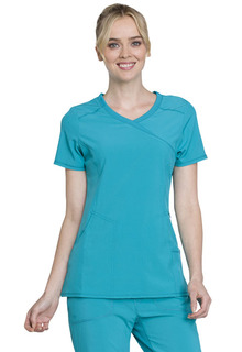 Infinity Mock Wrap Top - 2625A-Cherokee Medical