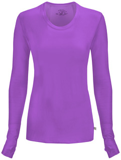 2626A Long Sleeve Underscrub Knit Tee-Cherokee Medical