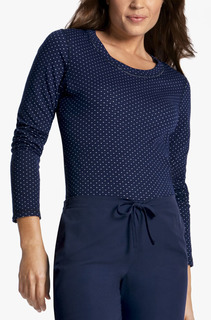 Reversible Knit Top-Cherokee Medical