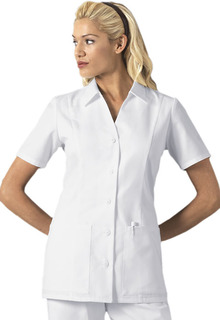 2879 Button Front Top-Cherokee Medical