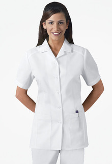 2880 Button Front Top-Cherokee Medical