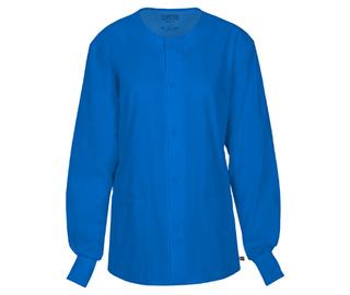 WW FLEX Unisex Snap Front Warm-up Jacket-