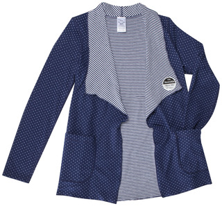 Reversible Knit Cardigan-Runway