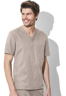 Cherokee Work Wear Unisex V-Neck Top-Cherokee Workwear