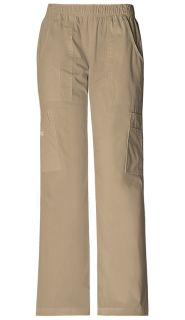 Mid Rise Pull-On Pant Cargo Pant-Cherokee Workwear
