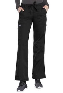 Low Rise Drawstring Cargo Pant-Cherokee Workwear