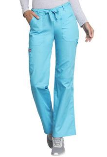 Originals Low Rise Drawstring/Elastic Cargo Scrub Pants - 4020-Cherokee Workwear