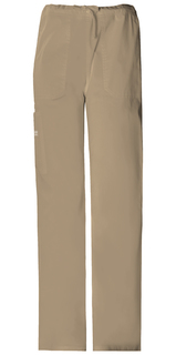Cherokee WorkWear Stretch Unisex Drawstring Cargo Scrub Pants-4043-Cherokee Workwear