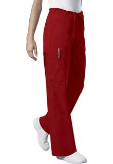 Core Unisex 5 Pocket Elastic/Drawstring Cargo Scrub Pants - Workwear 4043-