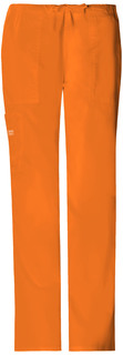 Mid Rise Drawstring Cargo Pant-Cherokee Workwear
