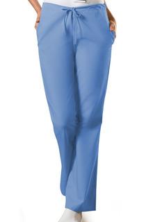 Originals Flare Leg Natural Rise Back Elastic/Front Drawstring Scrub Pants - 4101-Cherokee Workwear
