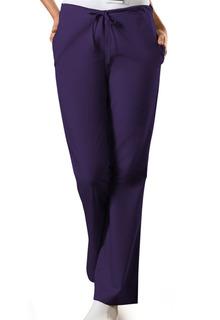 Workwear Ladies Flare Leg Natural Rise Back Elastic/Front Drawstring Scrub Pants - Originals-Cherokee Workwear