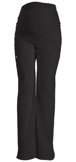 4208 Maternity Knit Waist Pull-On Pant-Cherokee Workwear
