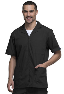Mens Zip Front Jacket-Cherokee Workwear