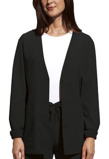 Cardigan Warm-Up Jacket-Cherokee Workwear