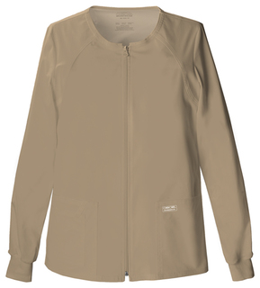 4315 Zip Front Warm-Up Jacket-Cherokee Workwear