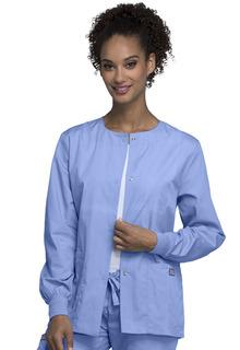 Originals Snap Front Warm-Up Jacket - 4350-Cherokee Workwear
