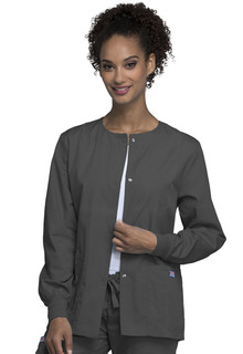 Snap Front Warm-Up Jacket-