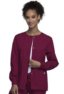 4350 Snap Front Warm-Up Jacket - Workwear Originals-Cherokee Workwear