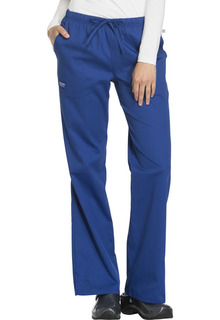 Mid Rise Moderate Flare Drawstring Pant-Cherokee Workwear