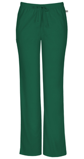 Mid Rise Moderate Flare Drawstring Pant-