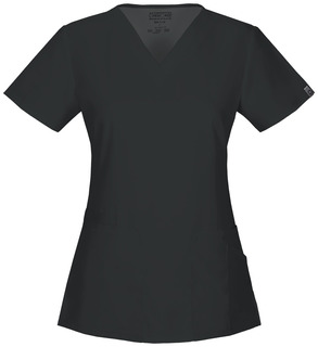 44700A V-Neck Top-Cherokee Workwear