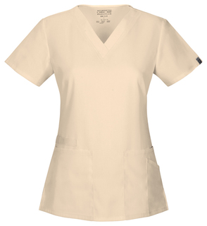 Cherokee Workwear V-Neck Flex Scrub Top-Cherokee Workwear