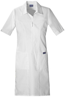 Zip Front Dress-Cherokee Workwear