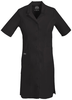 Button Front Dress-Cherokee Workwear