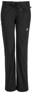 DEAL - Bliss Low Rise Straight Leg Drawstring Pant - Antimicrobial-