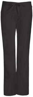 46002A Mid Rise Moderate Flare Drawstring Pant-Code Happy